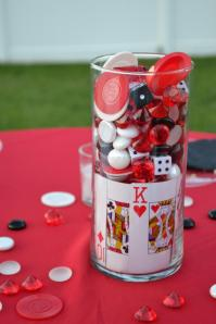 Casino Themed Centerpieces