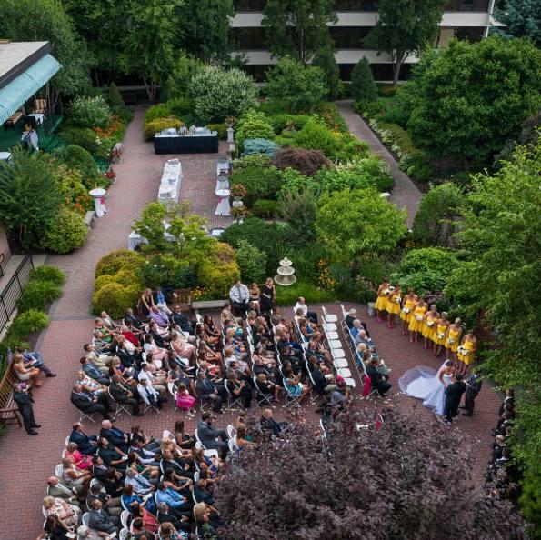 radnor hotel ceremony